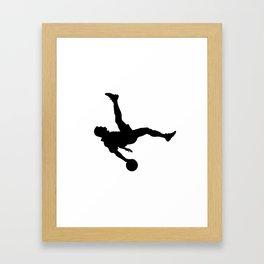 #TheJumpmanSeries, Pelé Framed Art Print