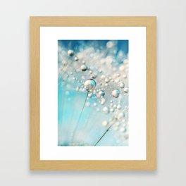 Sparkle in Blue Framed Art Print