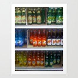 Soda at Galco's Soda Pop Stop Art Print