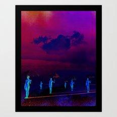 Vision of Life Art Print