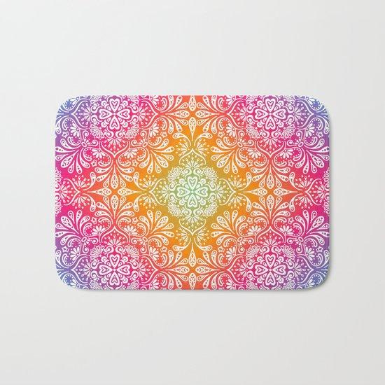 Spring Mandala Bath Mat