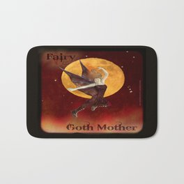 FAERIE GOTH MOTHER - 033 Bath Mat