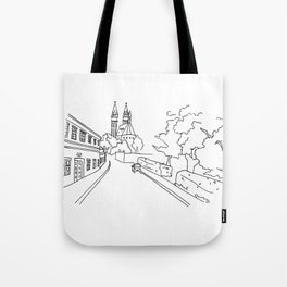 K rotundě, Praha 2, Czech Republic Tote Bag