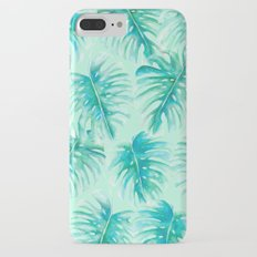 Paradise Palms Mint iPhone 7 Plus Slim Case
