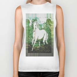 White Stallion Surreal Biker Tank