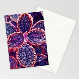 Tropical Leaves IV Stationery Cards