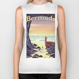 Bermuda Pirate Cave Biker Tank