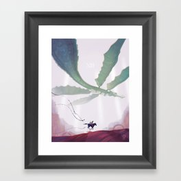 Shadow of the Colossus: Phalanx Framed Art Print