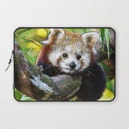 CArt red Panda Baby Laptop Sleeve
