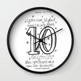 10 seconds Wall Clock