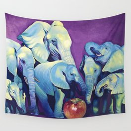 Elephat's Soccer Wall Tapestry