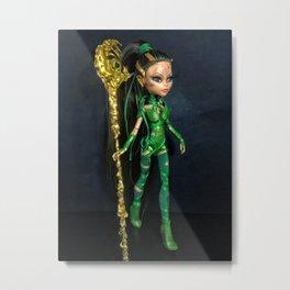 Rita Repulsa custom doll Metal Print