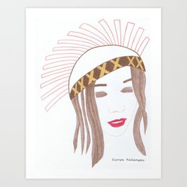 Nirrimi Hakanson Art Print