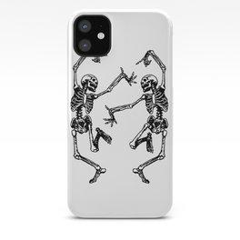 Duo Dancing Skeleton iPhone Case