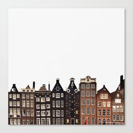 Simply Amsterdam Canvas Print
