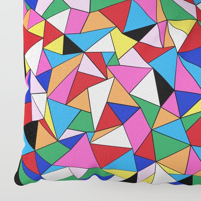 Kaleidoscope II Floor Pillow