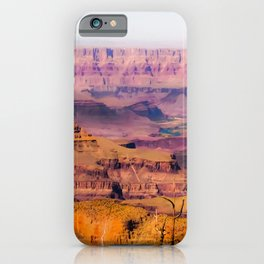 desert view at Grand Canyon national park, USA iPhone Case