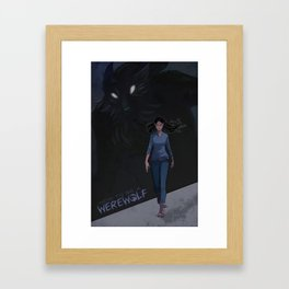 How to be a Werewolf: Chapter 6 Cover Framed Art Print