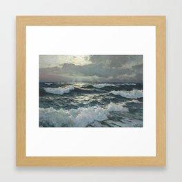 waves by Frederick Judd Waugh Framed Art Print
