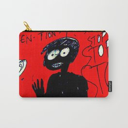 PANIC - red Carry-All Pouch