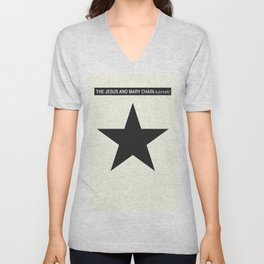 J. and Mary Chain - Automatic - reworked album cover Unisex V-Neck