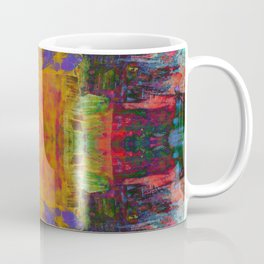 Cathedral Gorge Pattern Coffee Mug