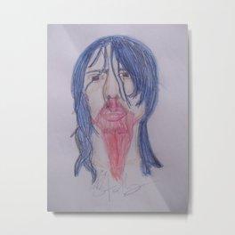 Andrew WK. Metal Print