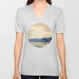 Afternoon in Galway Bay Unisex V-Neck