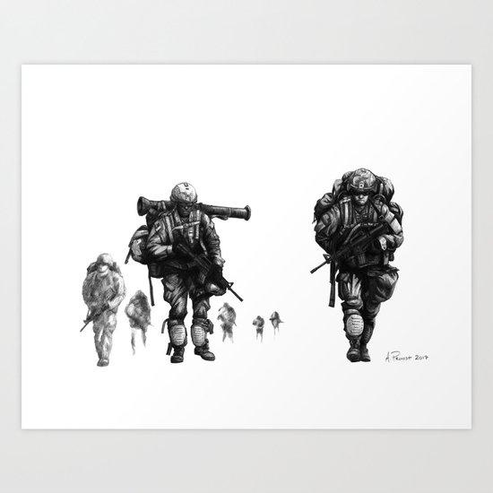 Light Fighters Art Print