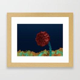 Desert Rose Framed Art Print