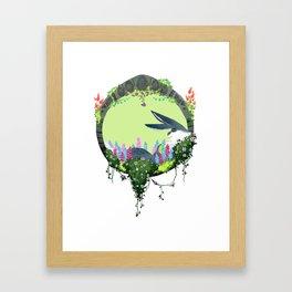 Bunnymund Circlet Framed Art Print