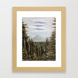 Joshua 24:15 Framed Art Print
