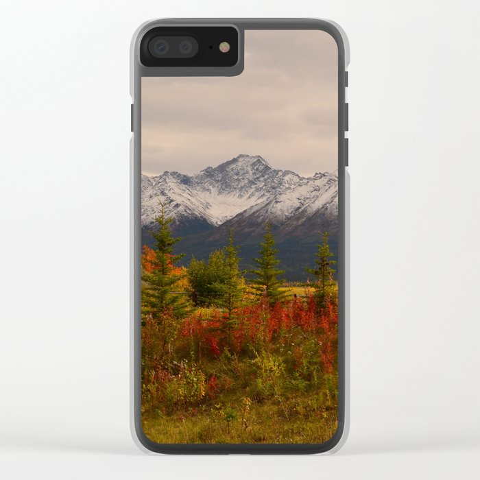 Seasons Turning Clear iPhone Case
