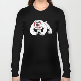 angry bulldog. Long Sleeve T-shirt