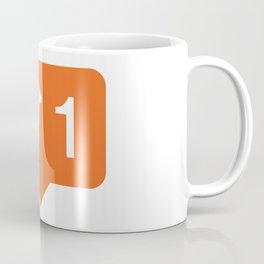 1 like dogs! Coffee Mug