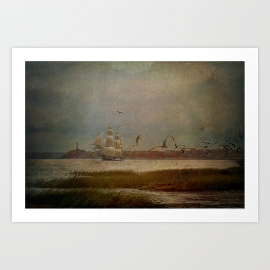 In Another Lifetime Art Print