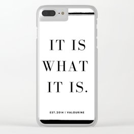 23  | Mantra 190426 Clear iPhone Case