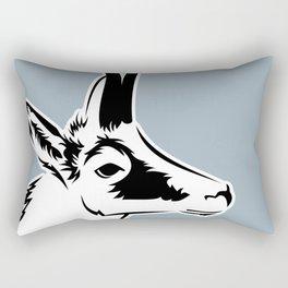 Wild goat Rectangular Pillow