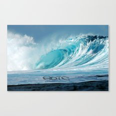 Epic wave art Canvas Print