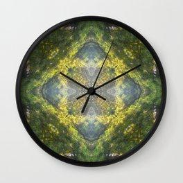 Forest Quadrant Wall Clock
