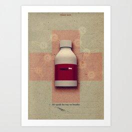Punk Quotes Poster Serie / Fugazi Said : Promises  Art Print