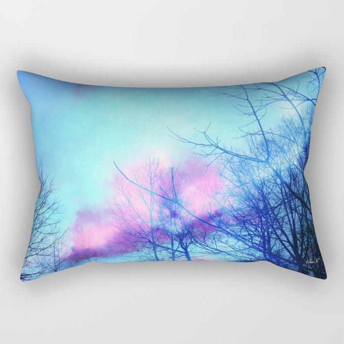 Listening to the Wind Rectangular Pillow