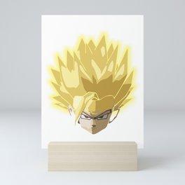 Gohan super saiyan ultimate form Mini Art Print