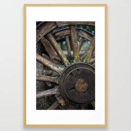 Aged and Loved Framed Art Print