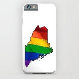 Maine Pride iPhone Case