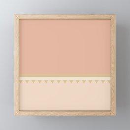 Jagged 7 Framed Mini Art Print
