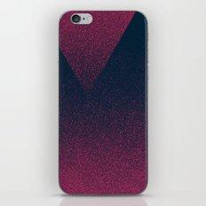OMBRE / raspberry iPhone Skin