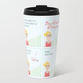 Thanks, Carrie Travel Mug