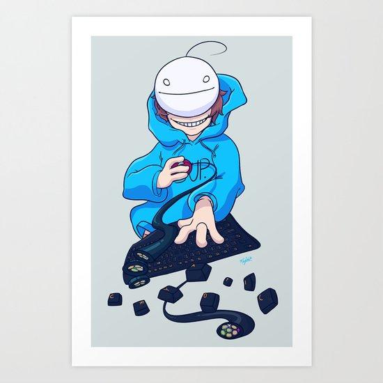 Cryaotic  Art Print