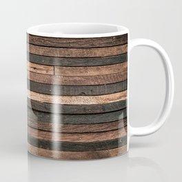 Vintage Wood Plank Coffee Mug